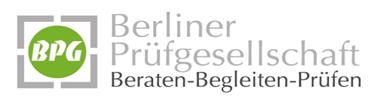 BPG Berliner Prüfgesellschaft mbH Logo